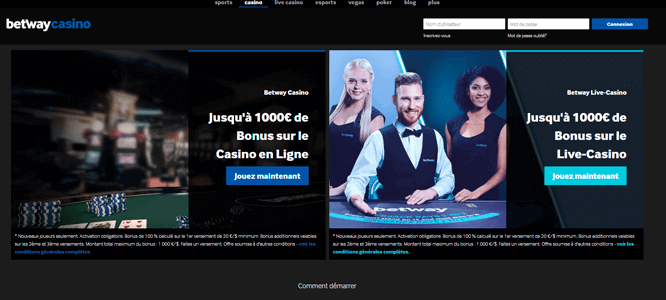 Betway casino in canada